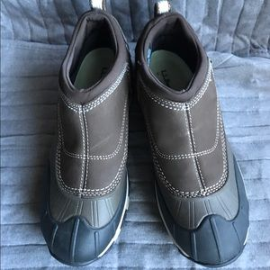 Waterproof LL Bean slip on shoes